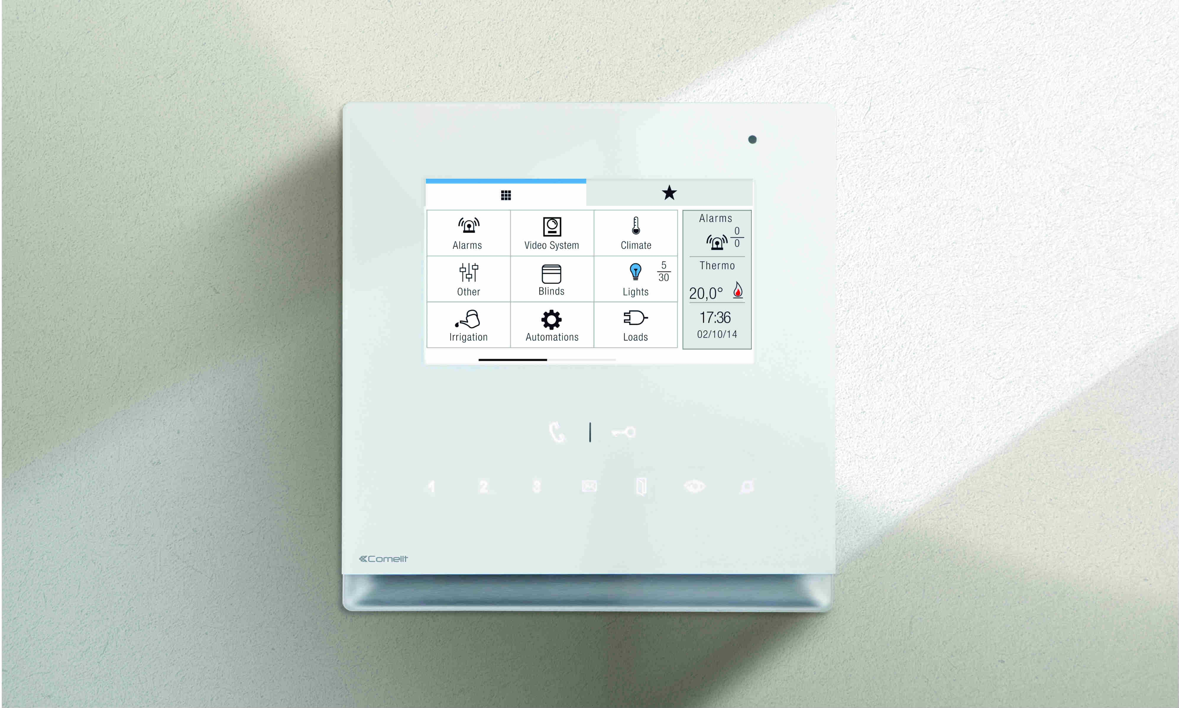 Comelit's Icona Manager epitomises the latest in home automation technology