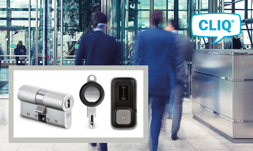 A CLIQ® electronic locking system puts an Italian bank in complete control of every entrance