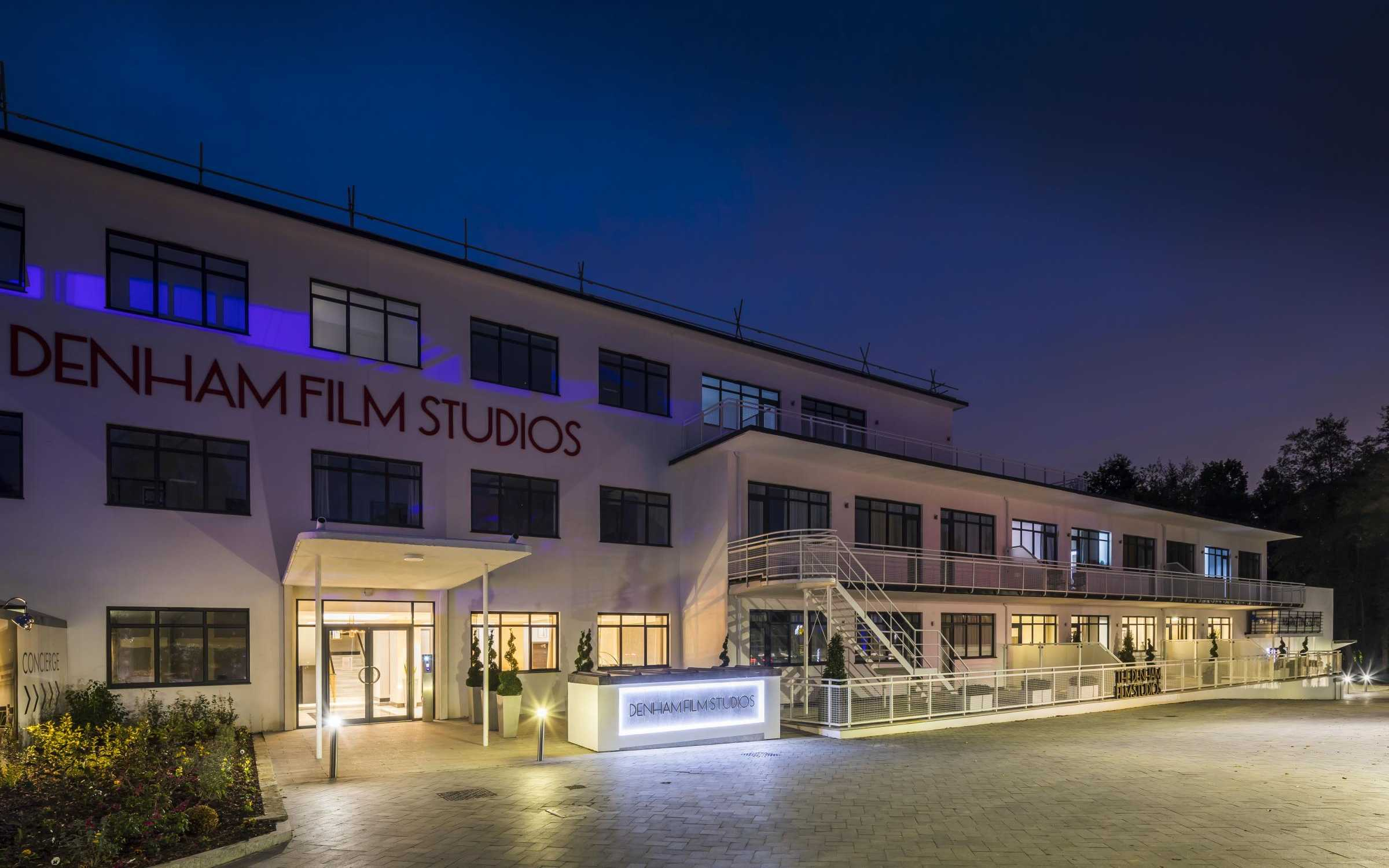Lights, Camera, Action… Urmet supplies integrated video entry and Yokis lighting control at The Denham Film Studios