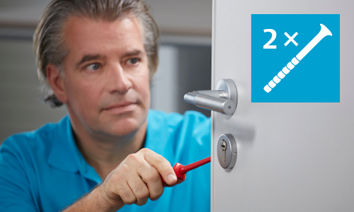 Code Handle®: the secure PIN-locking handle you can install yourself