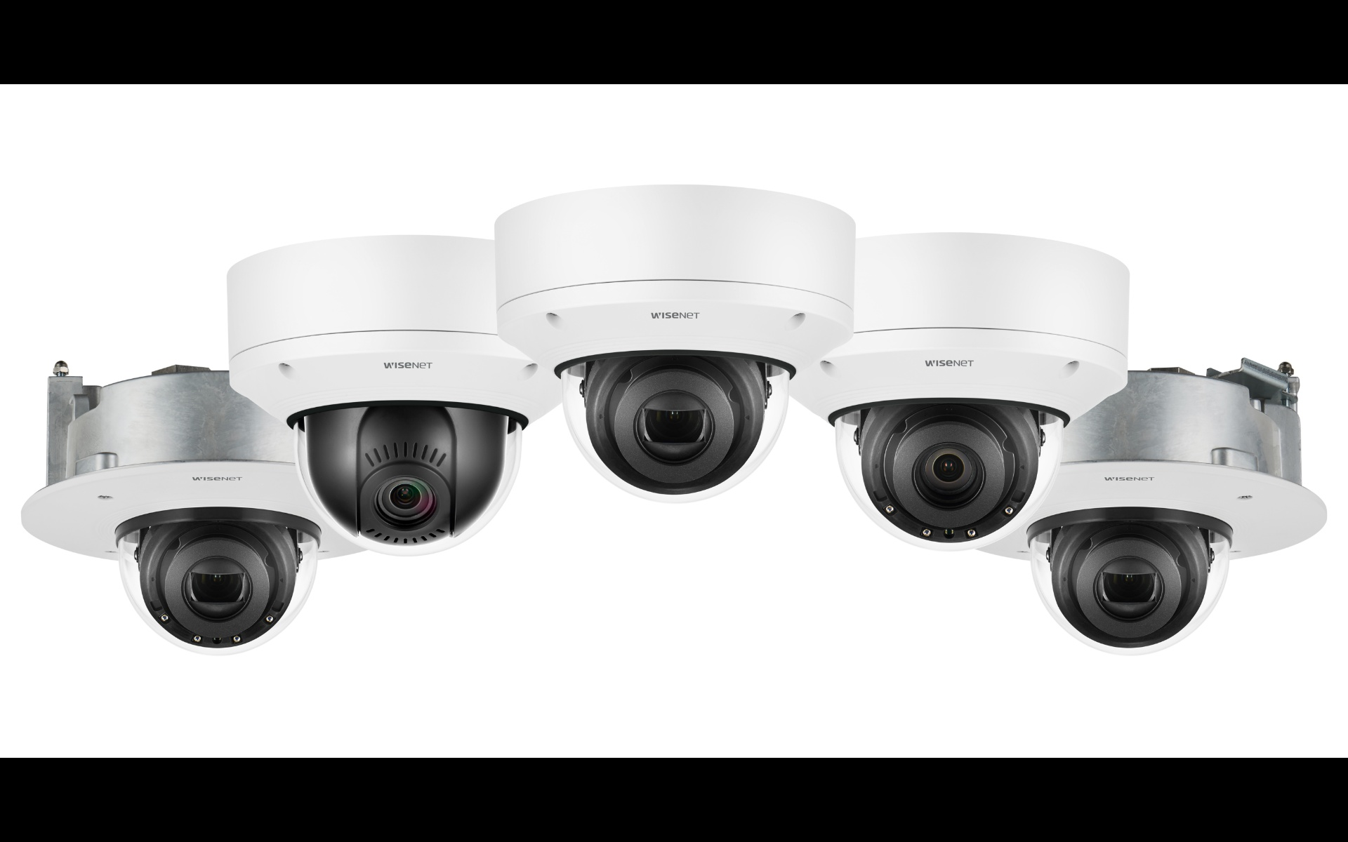 Dome camera installation simplified with Wisenet X Plus