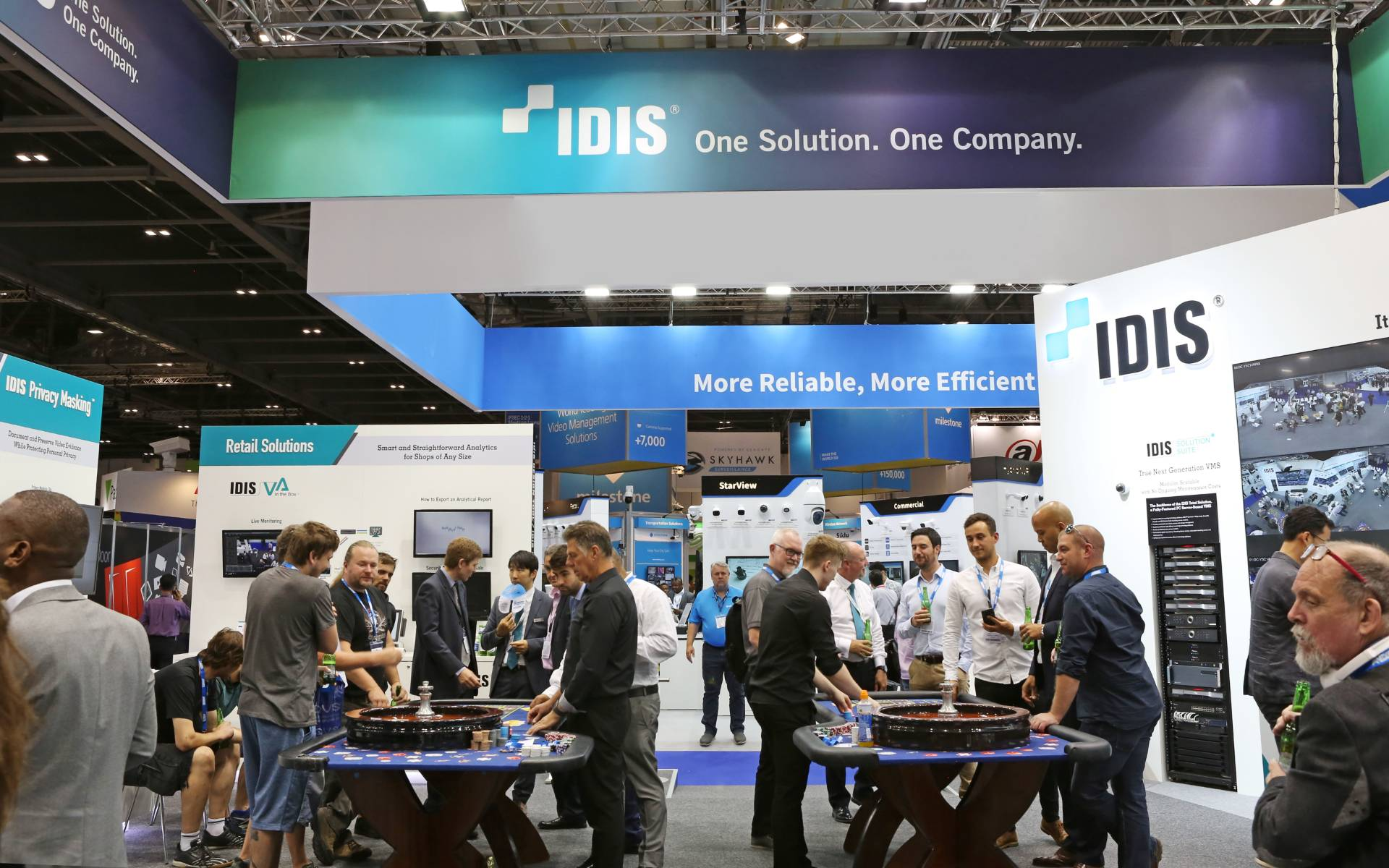 Powerful new video technology to be unveiled by IDIS at IFSEC