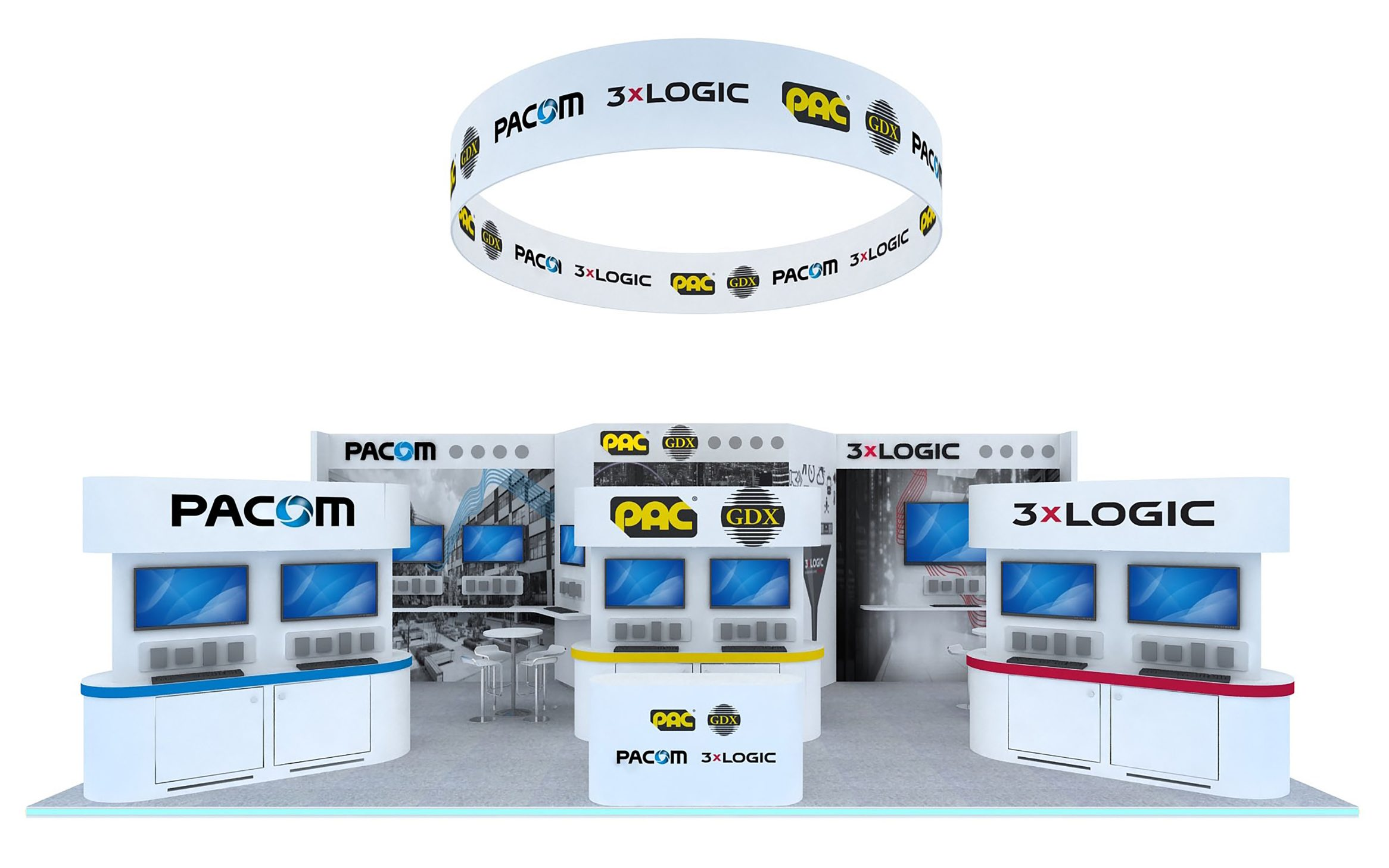3xLOGIC, PAC GDX and PACOM demonstrate their latest cutting edge security innovations at IFSEC International 2019