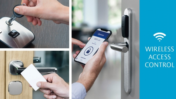 Access control options? Wireless doesn't tie you down