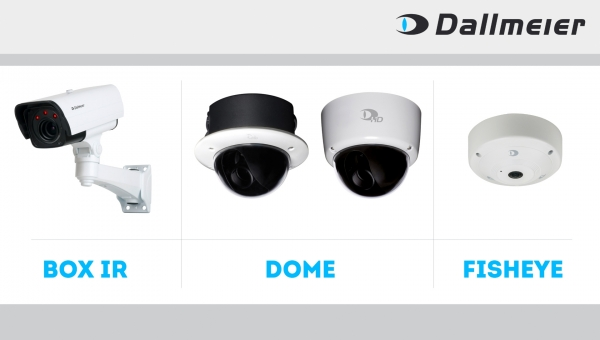 Data rate reduced by up to 50% and AI-supported object classification in new Dallmeier Camera Series 5000