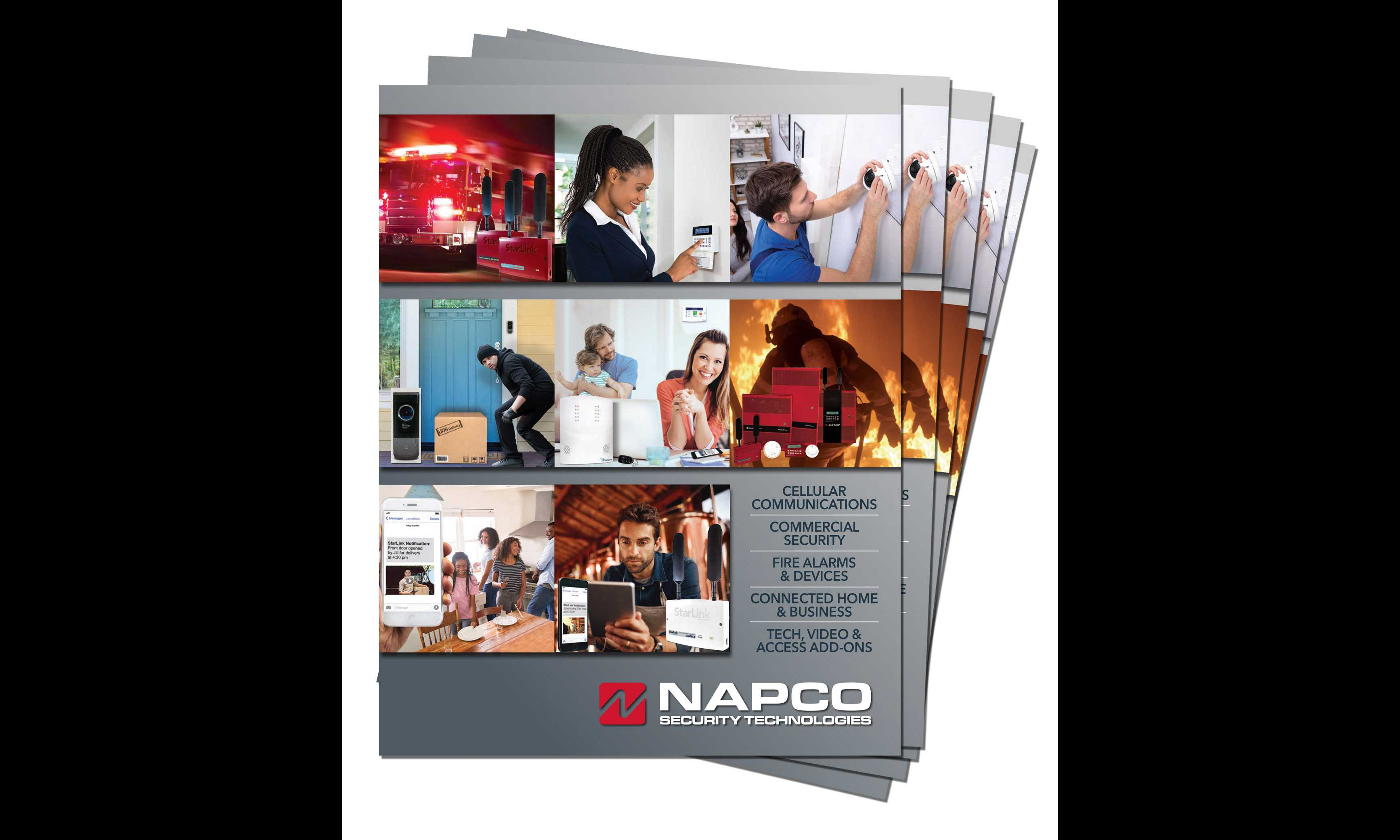 New Napco professional security solutions catalog available