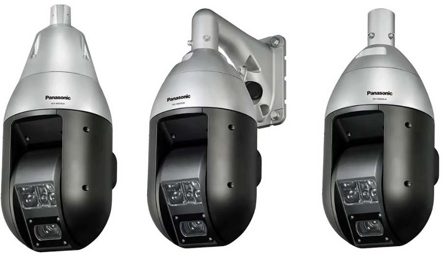 New levels of night visibility with the Panasonic Infra-Red Ptz security cameras