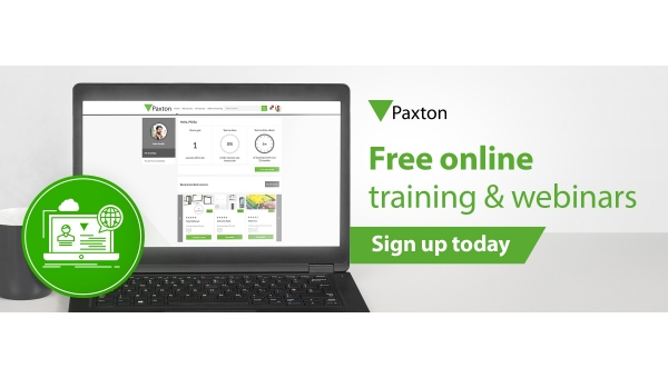 Paxton expands online training platform & launches free webinars