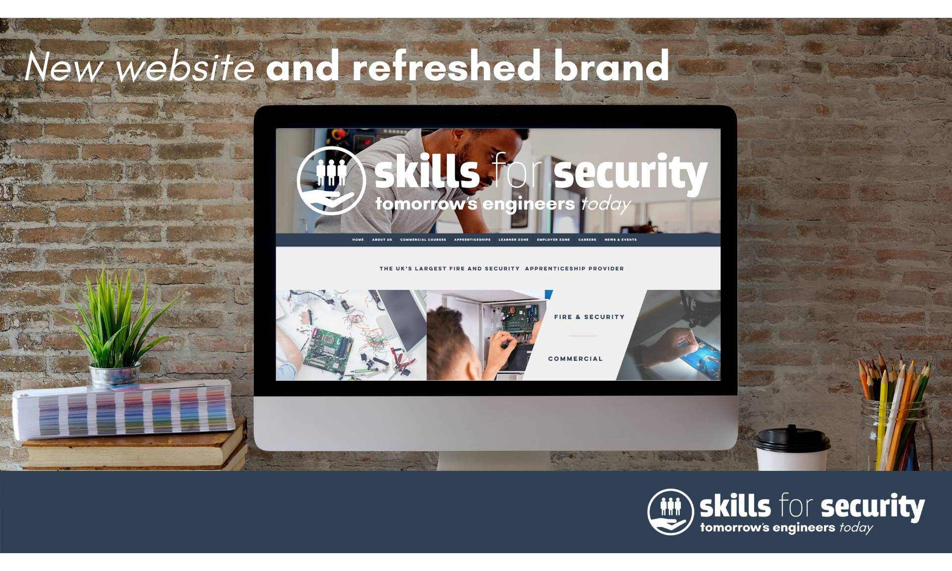 Skills for Security launch new improved website and refreshed brand identity