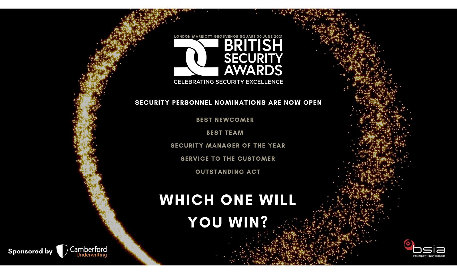 BSIA launch regional security personnel rounds of British Security Awards