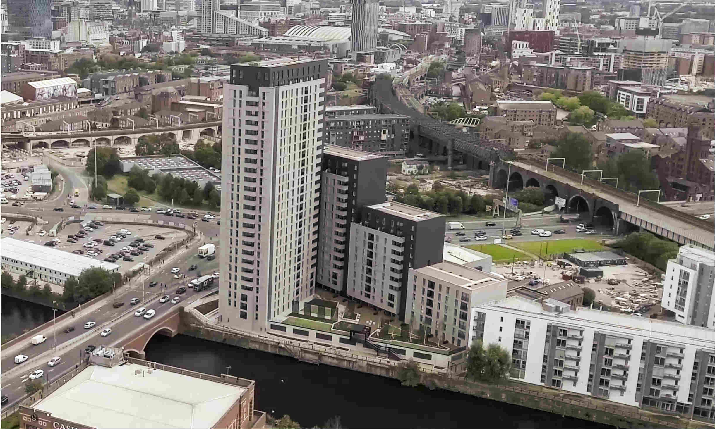 IP-based ViP video entry systems from Comelit have been used to enhance security and convenience at three prestigious residential developments in Manchester.