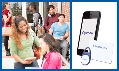 SMARTair® wireless access control is improving student life and campus security across Europe