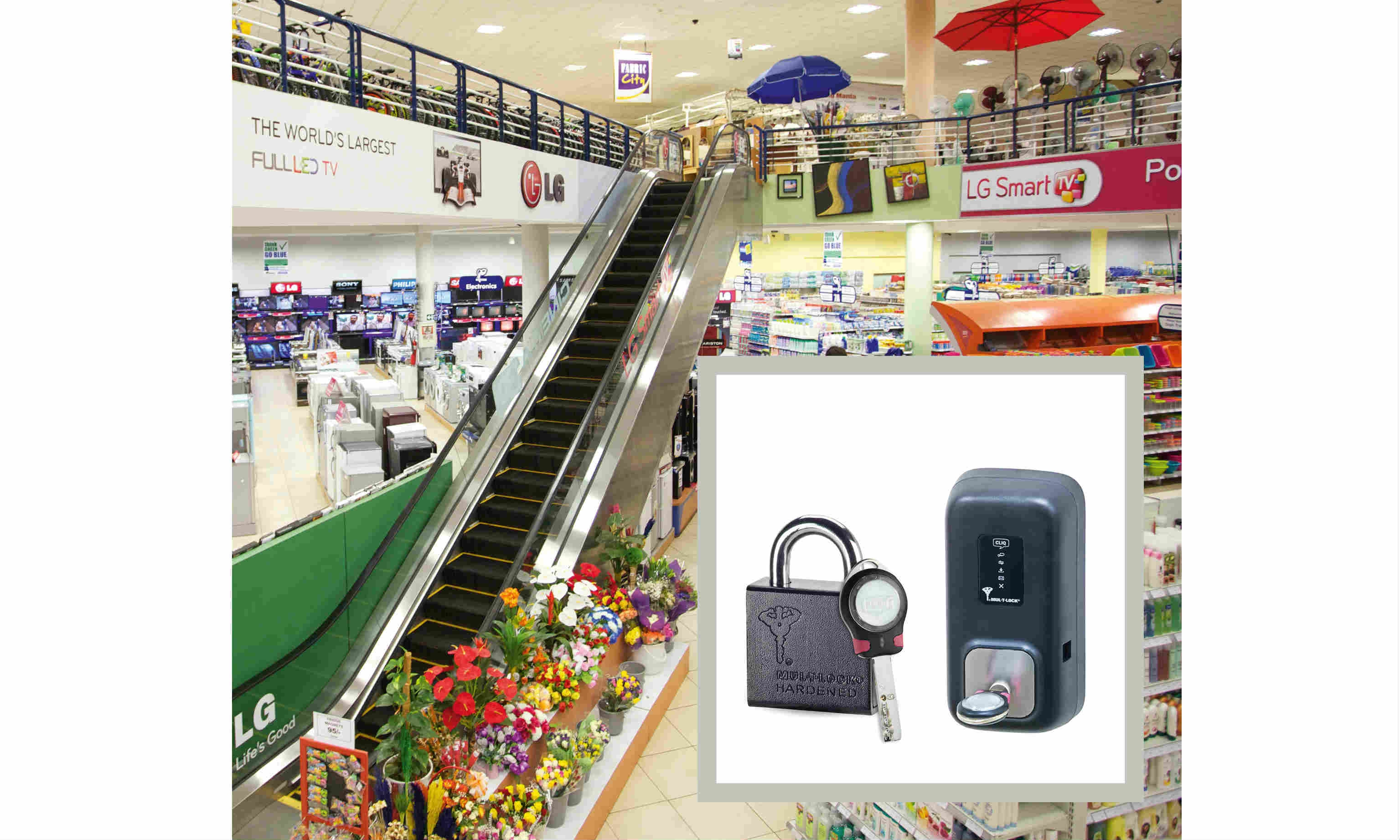 CLIQ® ends the security threat of lost keys at East Africa's major retailer